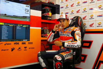 "Marquez: ""I enjoyed myself on the bike"""