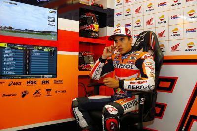 Márquez : « Je me suis fait plaisir sur la moto »