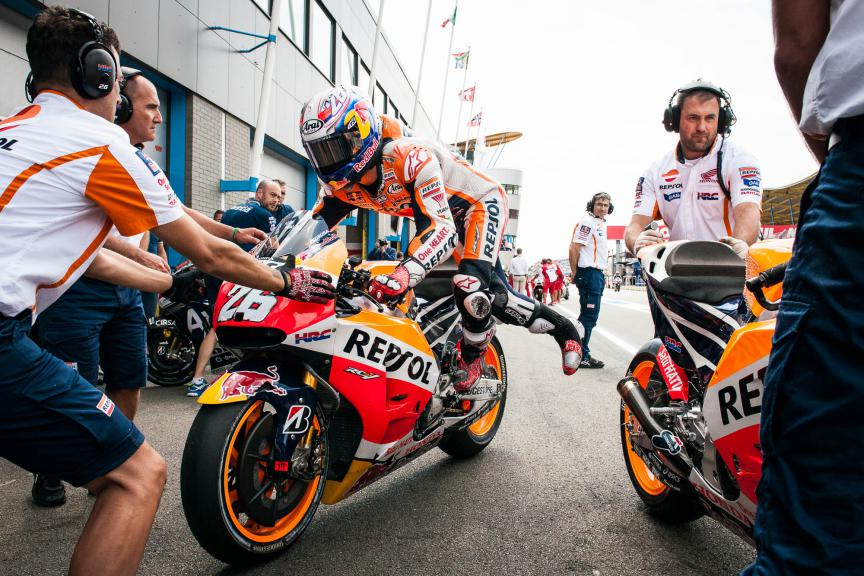 Dani Pedrosa, Repsol Honda Team, Assen FP2 © 2015 Scott Jones, PHOTO.GP