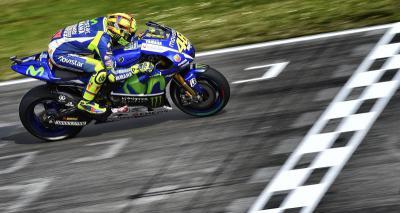 Rossi: 'Es importante aprovechar las condiciones en seco'