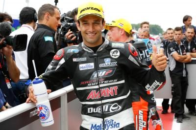 "Zarco: ""I had fun with the bike"""
