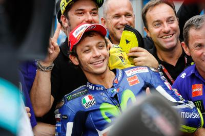 Rossi conquers qualifying demons