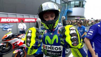 Rossi décroche sa première pole de l'année à Assen