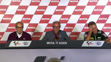 GP Commission Assen Press Conference