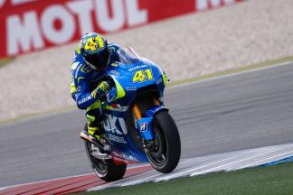 A. Espargaró bringt Suzuki in Reihe eins
