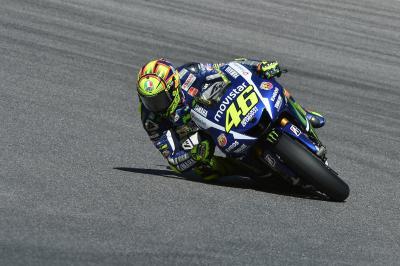 Rossi: 'Tener la pole es vital para mañana'