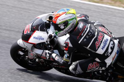 WM-Leader Johann Zarco in Assen auf Pole