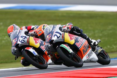 Bendsneyder betters Di Giannantonio in Assen duel