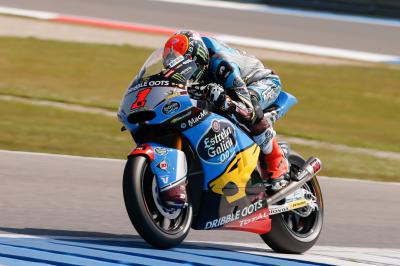 Rabat lays down marker for race in Moto2™ FP3