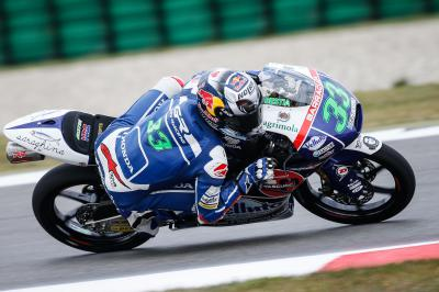 Bastianini takes second successive pole in Moto3™