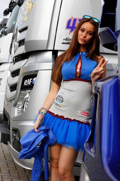 paddock Girl Motul TT Assen