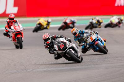 Last lap specialists shine in Moto2™