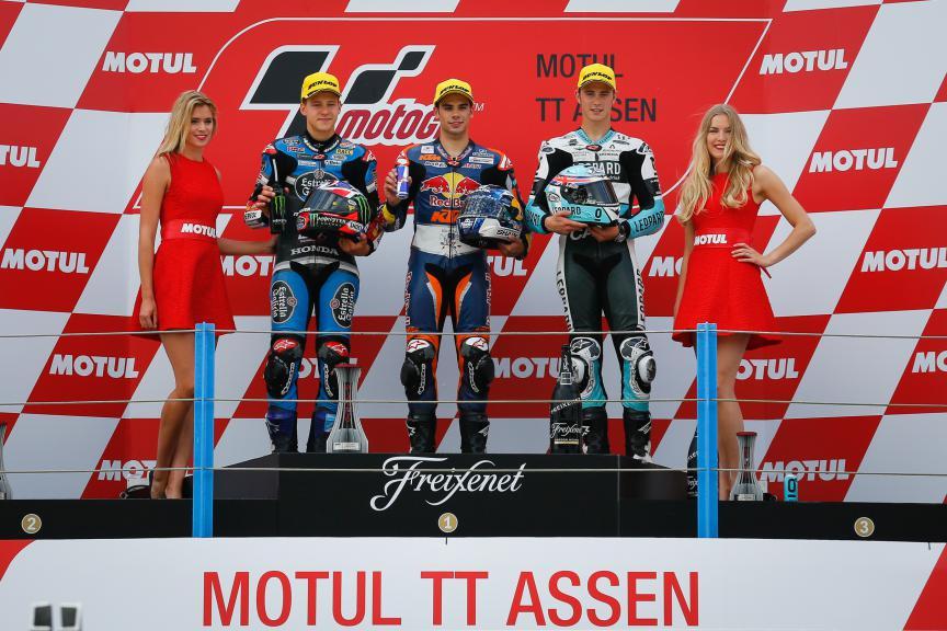 Quartararo, Oliveira, Kent, Estrella Glaicia 0,0, Red Bull KTM Ajo, Leopard Racing, Assen Race