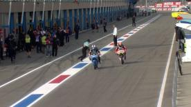 The full Warm Up session for the Moto3™ World Championship at the Dutch GP.