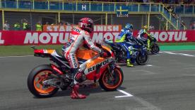 The full race session of the MotoGP™ World Championship at the Dutch GP.