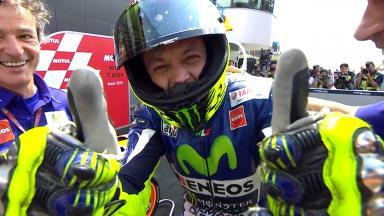 Rossi, ganador del TT Motul de MotoGP™ en Assen
