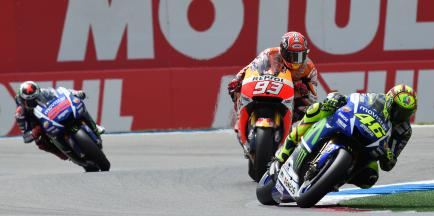 Assen ao rubro com fenomenal vitória de Rossi