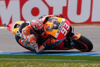 Marquez marca ritmo no warm up matinal do MotoGP™