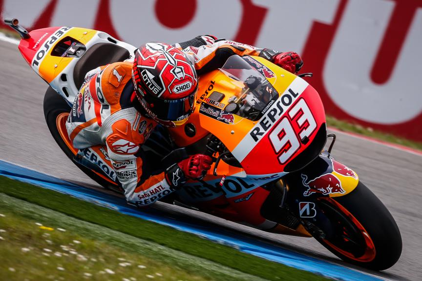 Marc Marquez, Repsol Honda Team, Assen Race