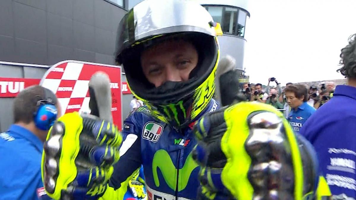 #DutchGP: Rossi's first pole of 2015
