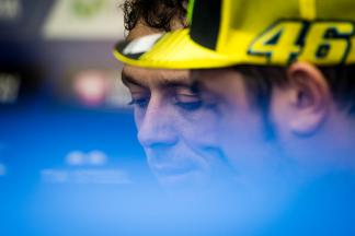 "Rossi: ""I couldn't shake him off"""