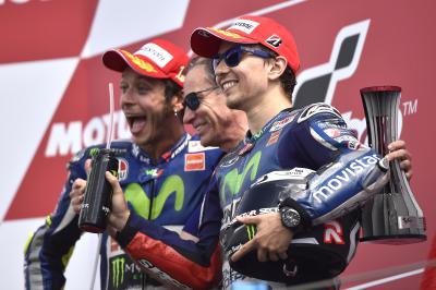 Lorenzo: 'Hoy tocaba luchar y salvar el tercer puesto'