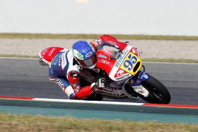 Danilo à la porte des points au Dutch TT