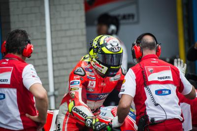 "Iannone: ""My race pace was similar to Jorge's"""