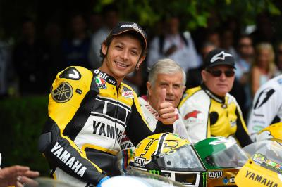 Valentino Rossi rocks 2015 Goodwood Festival of Speed