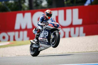 """Barbera: """"He hooked my right leg with his wheel"""""""