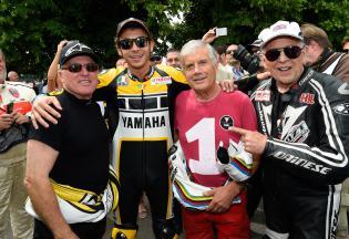 Valentino Rossi rocks 2015 Goodwood Festival of Speed