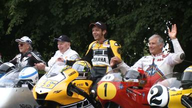 Rossi rockt Goodwood Festival of Speed