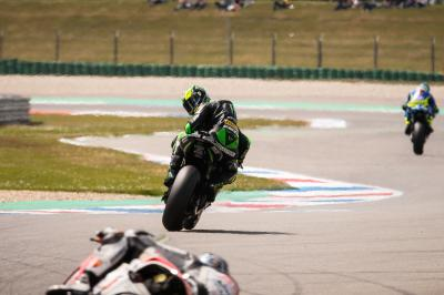"Espargaro: ""I had a lot of difficulties with my right arm'"