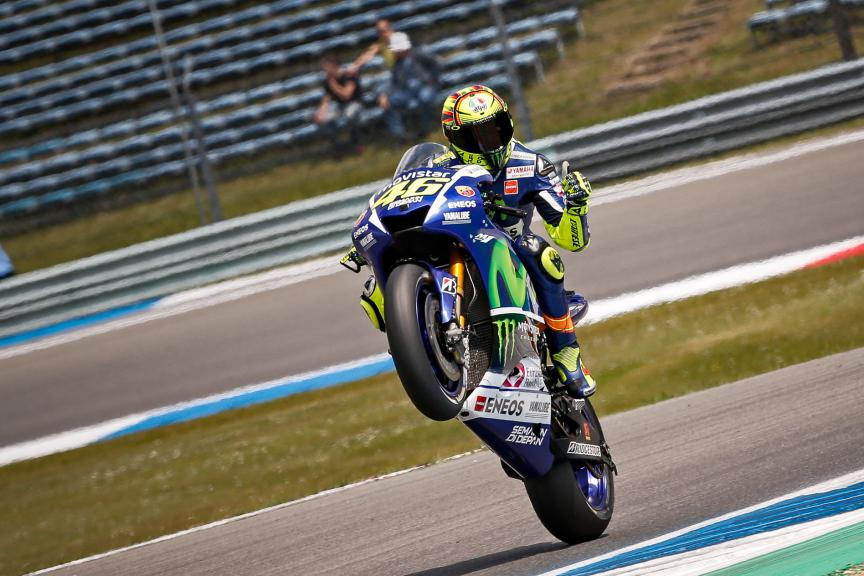 Valentino Rossi, Movistar Yamaha MotoGP Assen FP2