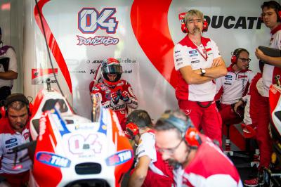 "Dovizioso: ""It's a real pity what happened"""