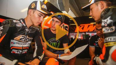 アレックス・リンスのMoto3™ジュニア世界選手権挑戦