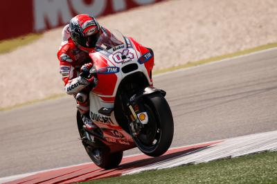Dovizioso to equal Rossi's record for consecutive starts