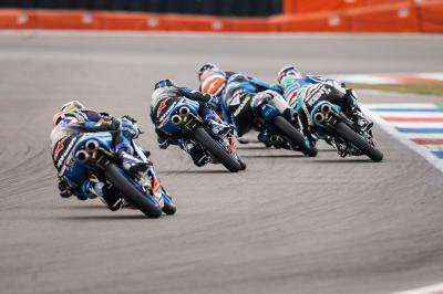 ¿Qué piloto de Moto3™ ganará por primera vez en Alemania?