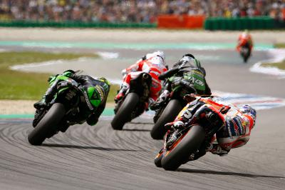 What's the racing history at Sachsenring?