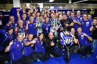 Movistar Yamaha's 2015 success