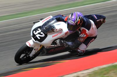 Toba in the battle for the podium at Aragon