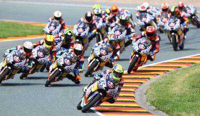 Rookies stirring a potent potion at the Sachsenring