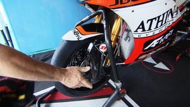 Sospensioni: dove guadagnano margine i team di Moto2™