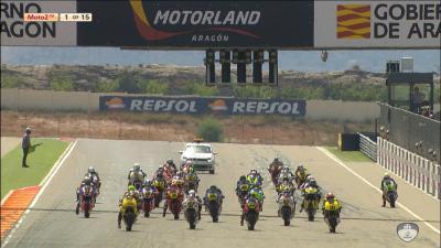 FIM CEV Repsol: Aragon Moto2 Race 1