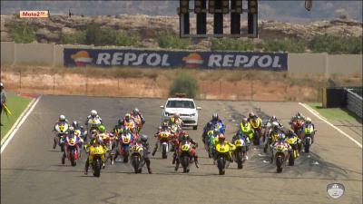 FIM CEV Repsol: Aragon Moto2 Race 2