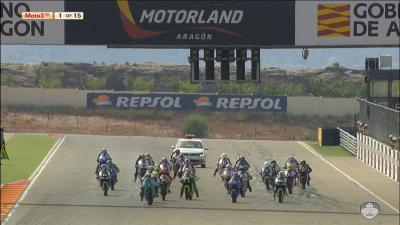 FIM CEV Repsol: Aragon Moto3 Race 1