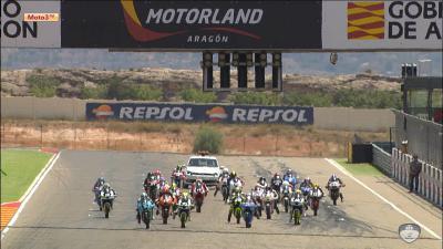 FIM CEV Repsol: Aragon Moto3 Race 2