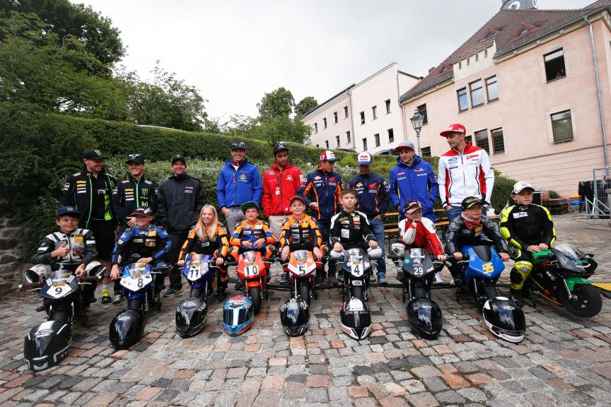 MotoGP meet the fans in Sachsenring