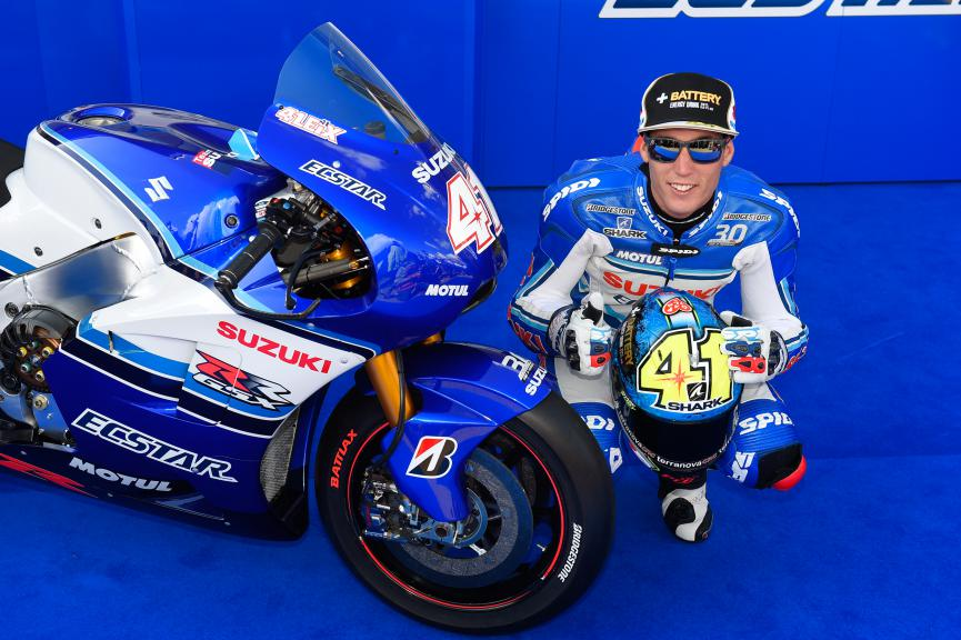 Aleix Espargaro, Team Ecstar Suzuki, German GP