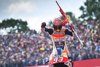 Marquez gets his mojo back